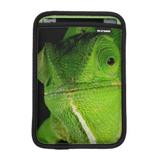 Portrait Of Flap-Necked Chameleon iPad Mini Sleeves