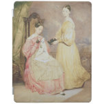 Portrait of Florence Nightingale  and her iPad Cover