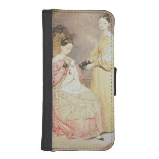 Portrait of Florence Nightingale  and her iPhone SE/5/5s Wallet Case
