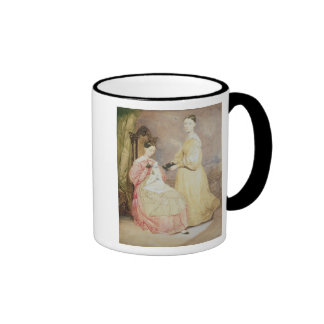 Portrait of Florence Nightingale  and her Ringer Coffee Mug