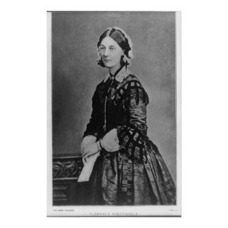 Portrait of Florence Nightingale Poster
