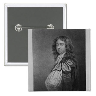 Portrait of Ford, Lord Gray of Warke Pinback Button