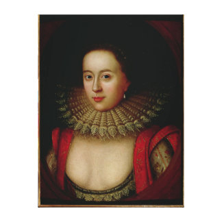 Portrait of Frances Howard  Countess of Somerset Canvas Print