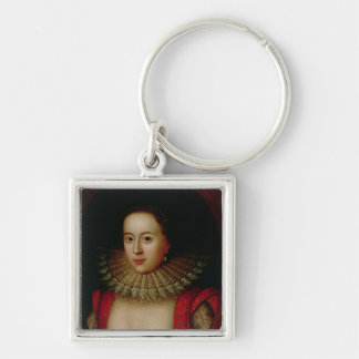 Portrait of Frances Howard  Countess of Somerset Keychain
