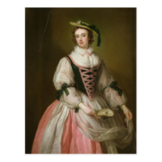 Portrait of Frances Macartney, c.1745 Postcard