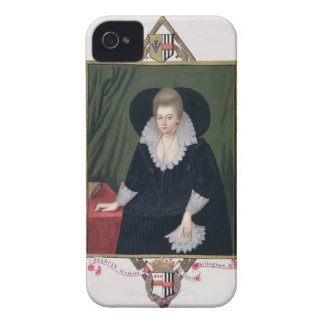 Portrait of Frances Walsingham, Countess of Essex iPhone 4 Cover