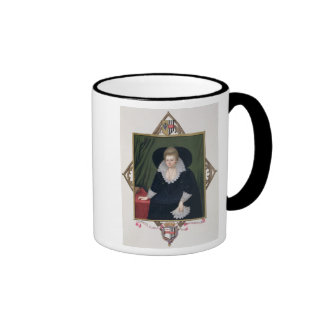 Portrait of Frances Walsingham, Countess of Essex Ringer Coffee Mug