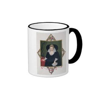Portrait of Frances Walsingham, Countess of Essex Ringer Mug
