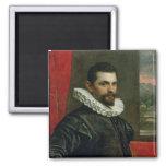 Portrait of Francesco Bassano Fridge Magnet