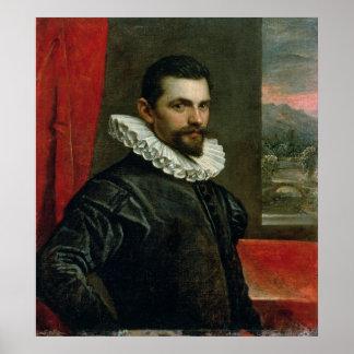 Portrait of Francesco Bassano Poster