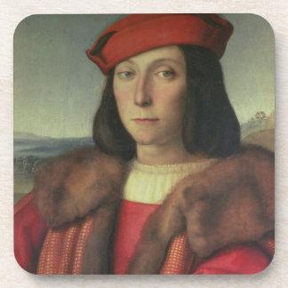 Portrait of Francesco della Rovere, Duke of Urbino Beverage Coaster