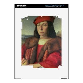 Portrait of Francesco della Rovere, Duke of Urbino Decal For iPad 3