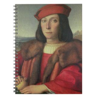 Portrait of Francesco della Rovere, Duke of Urbino Notebook