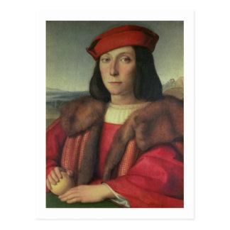 Portrait of Francesco della Rovere, Duke of Urbino Postcard