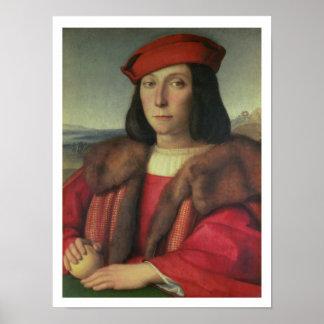 Portrait of Francesco della Rovere, Duke of Urbino Poster