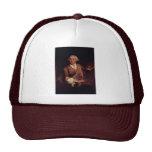 Portrait Of Francesco Guardi. By Longhi Pietro Trucker Hat