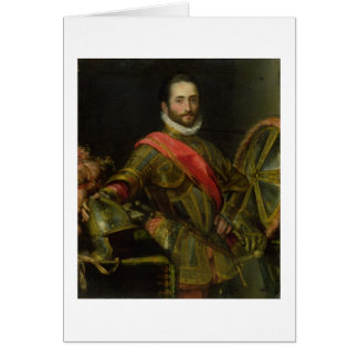 Portrait of Francesco II della Rovere, c.1572 (oil Card