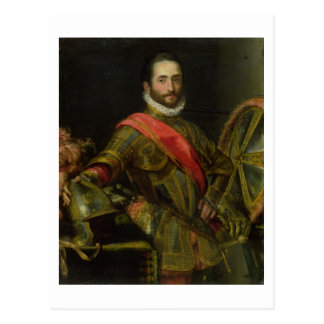 Portrait of Francesco II della Rovere, c.1572 (oil Postcard