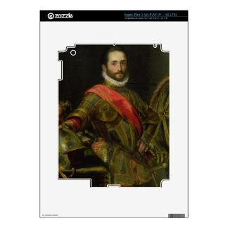 Portrait of Francesco II della Rovere, c.1572 (oil iPad 3 Decal