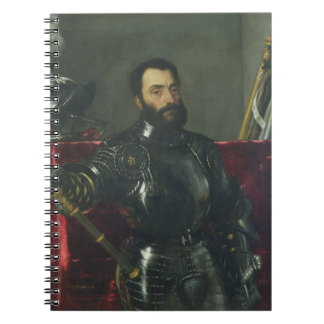 Portrait of Francesco Maria Della Rovere, Duke of Notebook