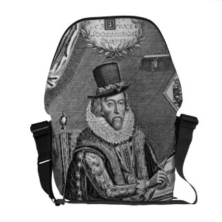 Portrait of Francis Bacon (1561-1626) Viscount of Courier Bag
