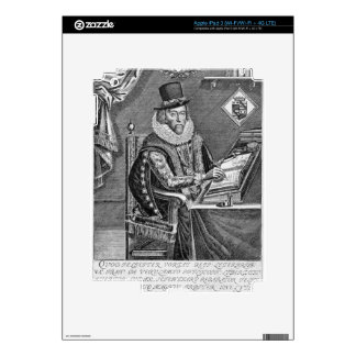 Portrait of Francis Bacon (1561-1626) Viscount of Decals For iPad 3