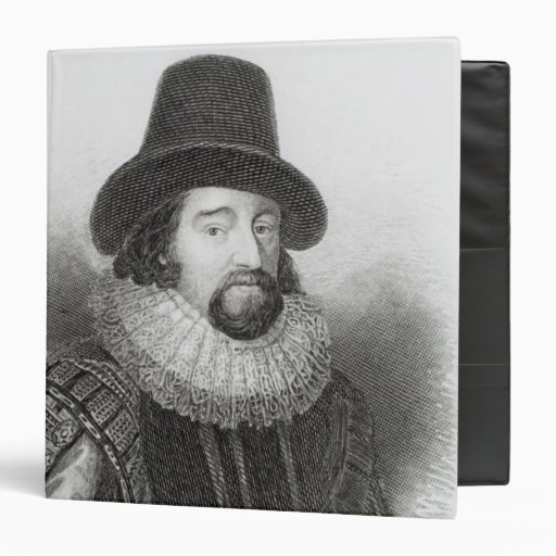 Portrait of Francis Bacon Binder