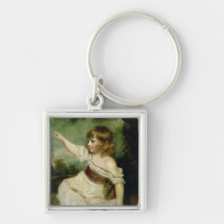 Portrait of Francis George Hare, oldest son of Fra Keychain
