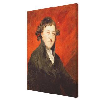 Portrait of Francis Hargrave (1741-1821), 1787 (oi Canvas Print