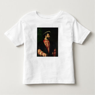 Portrait of Francis I  1538 Toddler T-shirt