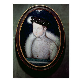 Portrait of Francis II  as Dauphin of France Postcard