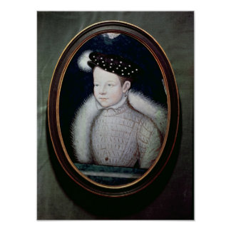 Portrait of Francis II  as Dauphin of France Poster