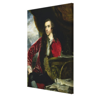 Portrait of Francis Russell, the Marquess of Tavis Canvas Print