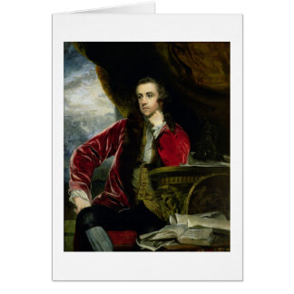 Portrait of Francis Russell, the Marquess of Tavis Card