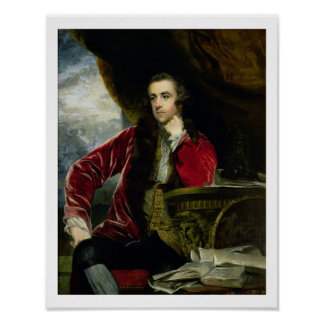 Portrait of Francis Russell, the Marquess of Tavis Poster