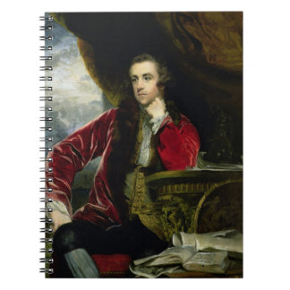 Portrait of Francis Russell, the Marquess of Tavis Spiral Notebook