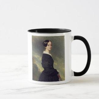 Portrait of Francisca Caroline de Braganca  1844 Mug