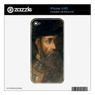Portrait of Francisco Pizarro (c.1478-1541) Spanis Skin For The iPhone 4S