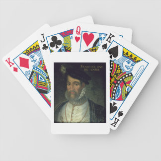 Portrait of Francois, 2nd Duke Guise (1519-63) Fre Bicycle Playing Cards