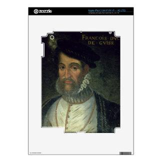 Portrait of Francois, 2nd Duke Guise (1519-63) Fre iPad 3 Decal