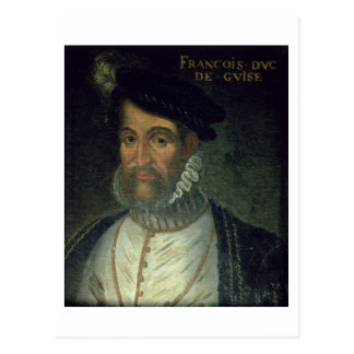 Portrait of Francois, 2nd Duke Guise (1519-63) Fre Postcard