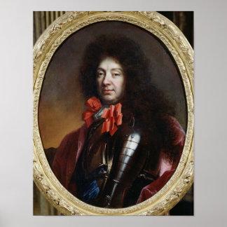Portrait of Francois Adhemar de Castellane Poster