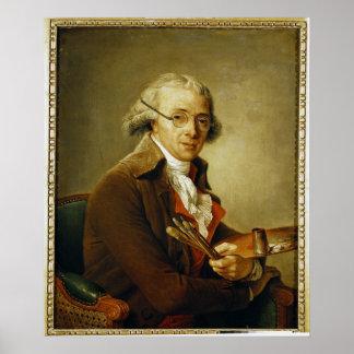Portrait of Francois-Andre Vincent Poster