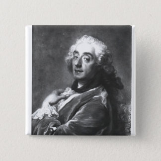 Portrait of Francois Boucher  1741 Pinback Button