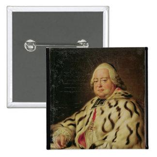 Portrait of Francois-Camille de Lorraine  c.1769 Button