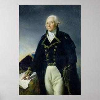 Portrait of Francois-Christophe Kellermann Poster