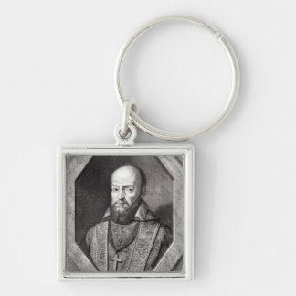 Portrait of Francois de Sales Keychain