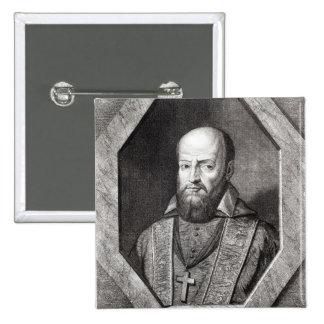 Portrait of Francois de Sales Pinback Button