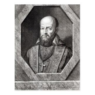 Portrait of Francois de Sales Postcard