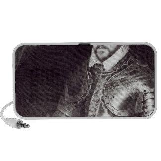 Portrait of Francois I, Duke of Montmorency Portable Speaker